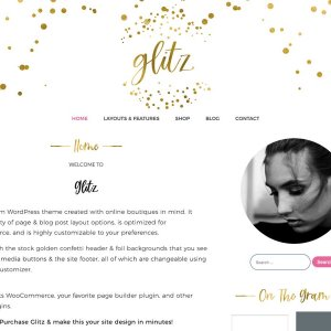 WordPress Theme Glitz
