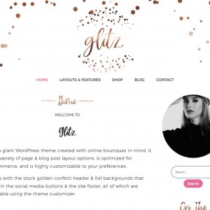 Copperglitz WordPress Theme