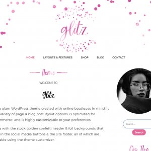 Pinkglitz WordPress Theme
