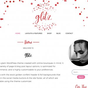 Rubyglitz WordPress Theme