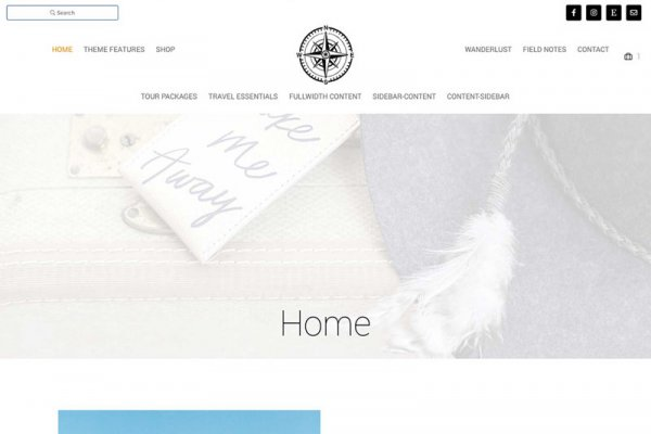 WordPress Travel Blog Theme Yonder