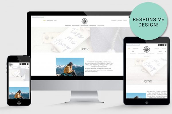 WordPress Travel Blog Theme Yonder Responsive